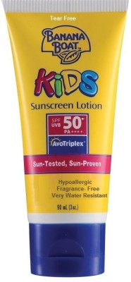 Banana Boat Kids Sunscreen Lotion - SPF 50+ PA+++