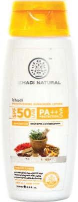 khadi Natural Moisturising Sunscreen Lotion - SPF 50 PA++