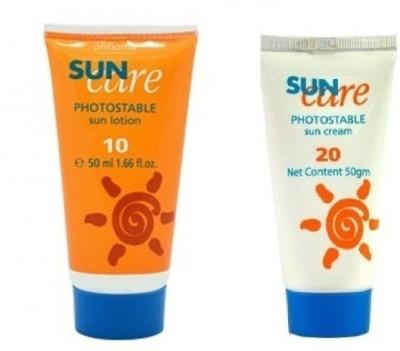 Oriflame Sweden Sun Care Photostable Sun Lotion & Sun Cream - SPF 30 PA+