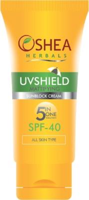 Oshea Herbals UVSHIELD - Sun Block Cream - SPF 40 PA+