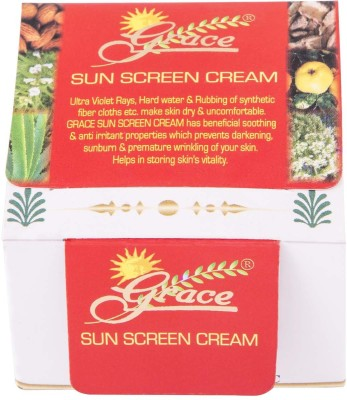 Grace Sunscreen Cream - SPF 10 to 15 PA+