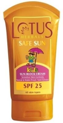 Lotus Safe Sun Kids - Sun Block Cream - SPF 25