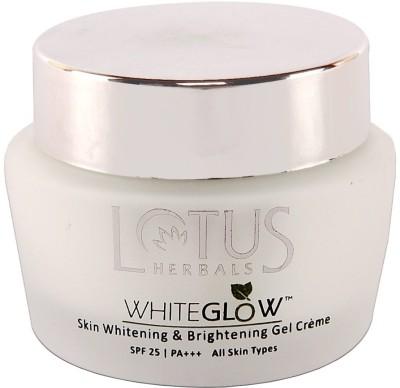 Lotus White Glow Skin Whitening & Brightening Gel Cream - SPF 25 PA+++