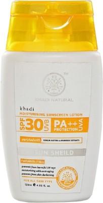 khadi Natural Moisturising Sunscreen Lotion - SPF 30 PA++