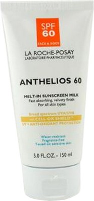 La Roche-Posay Sunology Natural Sunscreen Broad Spectrum SPF 50 for Body, Mineral, Non-toxic, Zinc Oxide & Titanium Dioxide Active Ingredients, Patented Essential Oil Blend for Moisturizing, Unscented, Water-resistant, Reef Safe - SPF 60