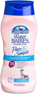 Neutrogena pure and free baby sunscreen