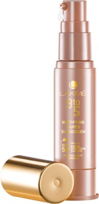 Lakme 9 to 5 Mattifying Super Sunscreen ...