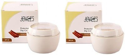 Jovees Sandalwood Protection Day Cream (Pack of 2) - SPF 20