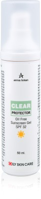 Anna Lotan Clear Protector Oil Free Sunscreen Gel Spf32 - SPF 32 PA++