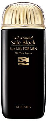 Missha All Aound Safe Block Sun Milk For Men SPF50+/PA+++ 70ml - SPF 50 PA+++(70 ml)