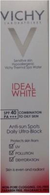Vichy Ideal White Anti-Sun Spots Daily Ultra Block - SPF 40 PA+++