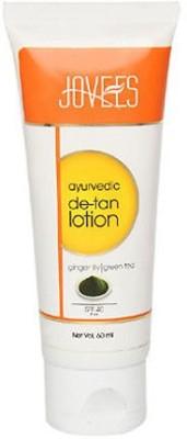Jovees Ayurvedic De-Tan Lotion Ginger Lily Green Tea - SPF 40 PA++
