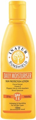 Inatur Herbals SPF Sunscreen Lotion - SPF 15