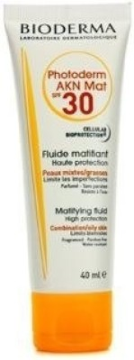 Bioderma Photoderm AKN Mat High Protection Matifying Fluid - SPF 30 PA+