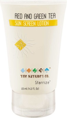 The Nature,s Co Red and Green Tea Sun Screen Lotion