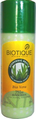 Biotique Bio Vera Ultra Soothing Body Lotion - SPF 75