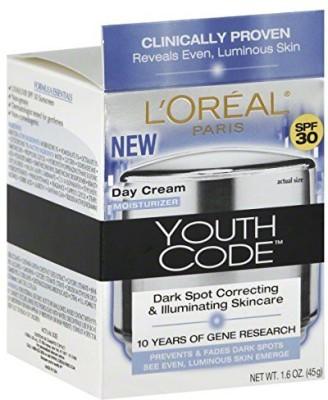 L,Oreal Paris Youth Code Even Day Cream - SPF 30