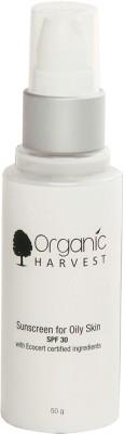 Organic Harvest Sunscreen for Oily Skin - SPF 30 PA++