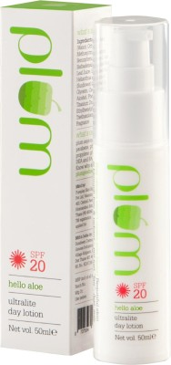 Plum Hello Aloe Ultra-Lite Day Lotion - SPF 20 PA+