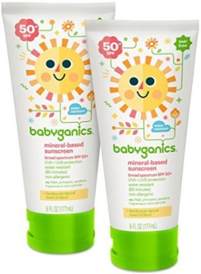 Babyganics Mineral-Based Baby Sunscreen Lotion - SPF 50 PA+