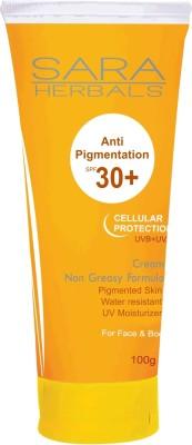 Sara Herbals Anti-pigmentation Cream - SPF 30