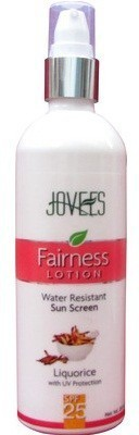 Jovees Water Resistant Sun Screen Fairness Lotion - SPF 25