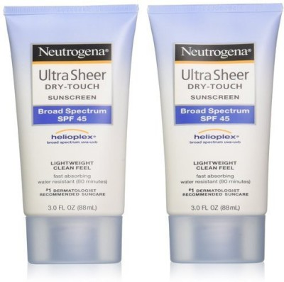 Neutrogena Ultra Sheer Drytouch Sunscreen - SPF 45 PA++(176 ml)