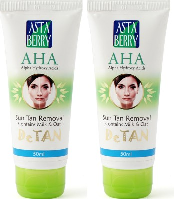 Astaberry Detan Removal Pack of 2 - SPF 15 PA+