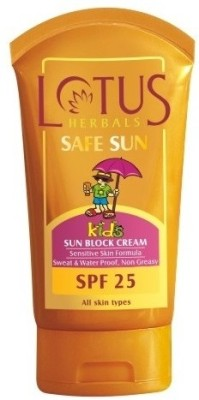 Lotus Safe Sun Kids - Sun Block Cream - SPF 25