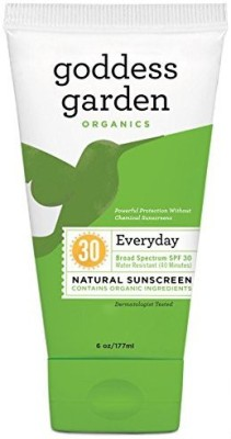 Goddess Garden baby natural sunscreen - - cream
