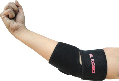 Kobo Elbow Support Elbow Support (Free Size, Black)