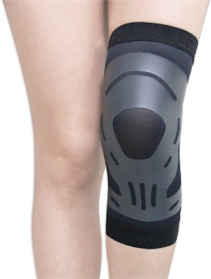 BodyVine Ultra-Thin Knee Support (L, Black)