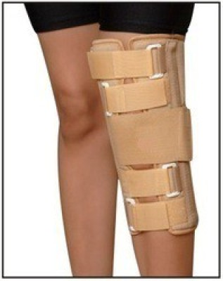 Vkare Immobilizer - 12 Inch Knee Support (L, Beige)