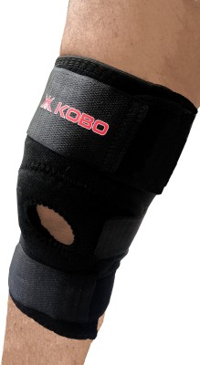 Kobo Knee Support Knee Support (Free Size, Black)