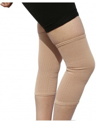 TURION CAP SUPPORT LYCRA PREMIUM Knee, Calf & Thigh Support (S, Beige)