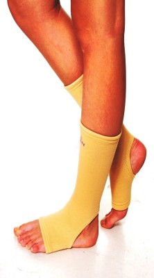 Ache Cure Anklet Ankle Support (S, Beige)