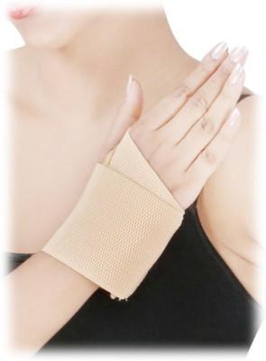D4 Rehabilitation Elastic Wrist Brace Wrist Support (Free Size, Blue, Brown)
