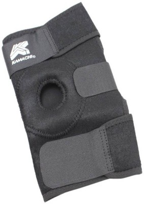 Kamachi Neoprene Knee, Calf & Thigh Support (Free Size, Black)