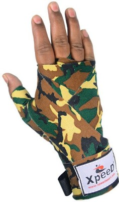 Xpeed Printed Hand Wrap Pack Of 2 Hand Support (Free Size, Brown, Yellow, Green, Black)