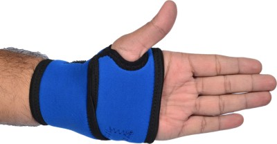 Vkare Wrist Binder with Thumb Support (Free Size, Blue)