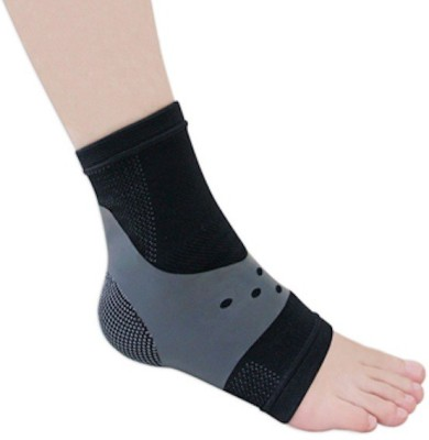 BodyVine Stabilizer Ankle Support (L, Black)