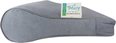 Vkare Cervical Pillow - Light Grey Neck Support (Free Size, Grey)