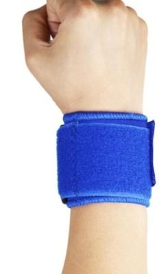 Liveup Ls5750 Wrist Support 8*8cm Blue Cotton (M, Blue)
