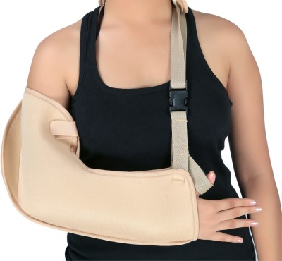 GNRPHARMA Adjustable Pouch Armsling Deluxe Tropical Hand Support (M, Multicolor)