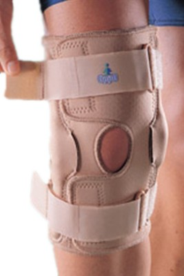 Oppo Post Operative Knee Support Knee, Calf & Thigh Support (XL, Beige)
