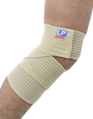 LP Support 631 Knee Support (Free Size, Brown)