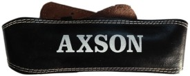 AXSON Weight Lifting Belt Back Support (XL, Black)