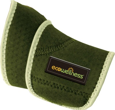 Ecowellness Wrist Support Open Patella with Terry Cloth