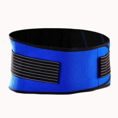 Vedic Deals Tourmaline Magnetic Waist Belt Waist Support (Free Size, Blue)