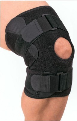ACTIFIT HINGE CAP Knee Support (XL, Black)